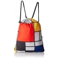 "Mochila plegable Piet Mondrian ""Composition with large red plane, yellow, black, grey and blue"""