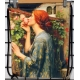 "Mochila plegable John William Waterhouse ""My sweet rose"""