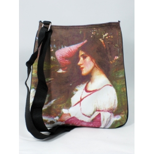 "Bolso bandolera John William Waterhouse ""Windflowers"""