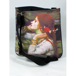 "Bolso bandolera John William Waterhouse ""Ophelia"""