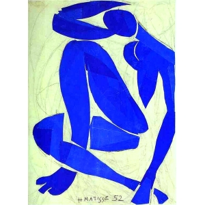 Museo Vctor Pascual: Matisse, Desnudo azul IV