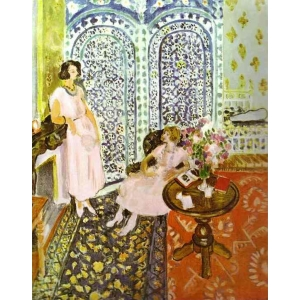 "Cuaderno arte Henri Matisse "" Moorish screen"""