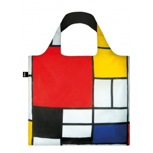 """Bolsa compra Piet Mondrian """"Composition with large red plane, yellow, black, grey and blue"""""""